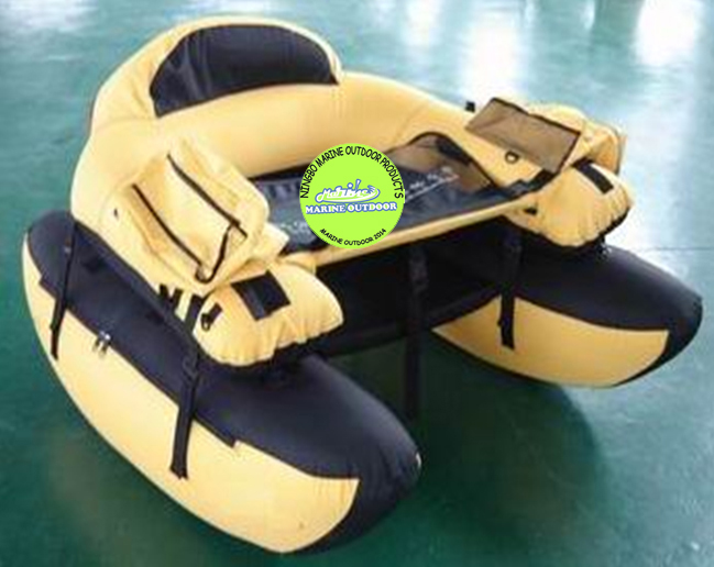 Easy To Carry Fishing Flying Belly Boat Inflatable Float