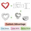 Custom slide charms