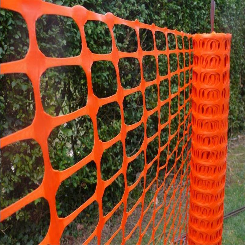 Plastic safety fence plastic mesh net blue orange black color barrier fence