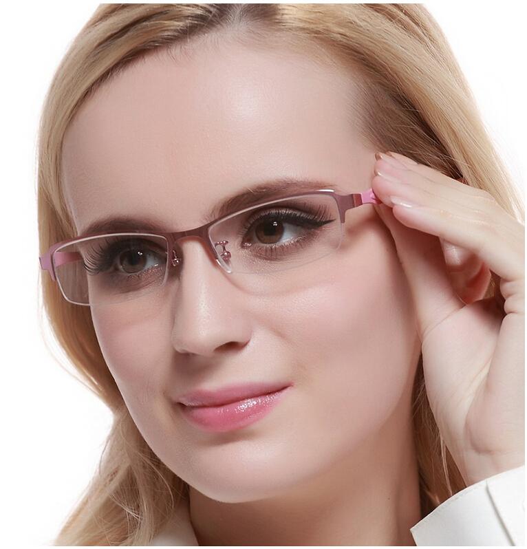 Para mujer blear ojos gafas para miope miope anteojos