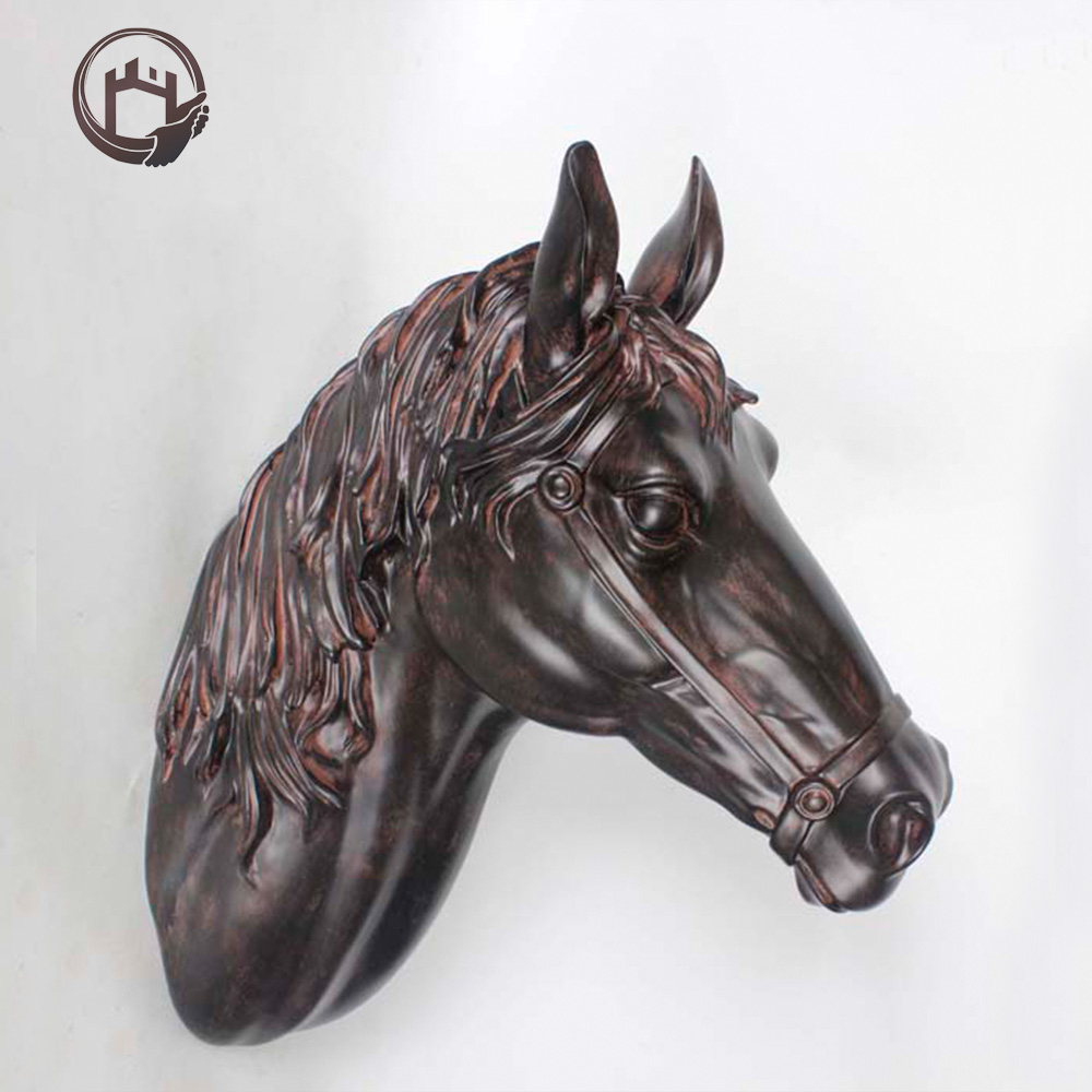 Mall Mount Animal Metal Cast Bronze Horse Statue Home Decorating Piece  Crafts Sculpture   Buy Mall Mount Animal Decor,Home Decoration Piece,Bronze  ...
