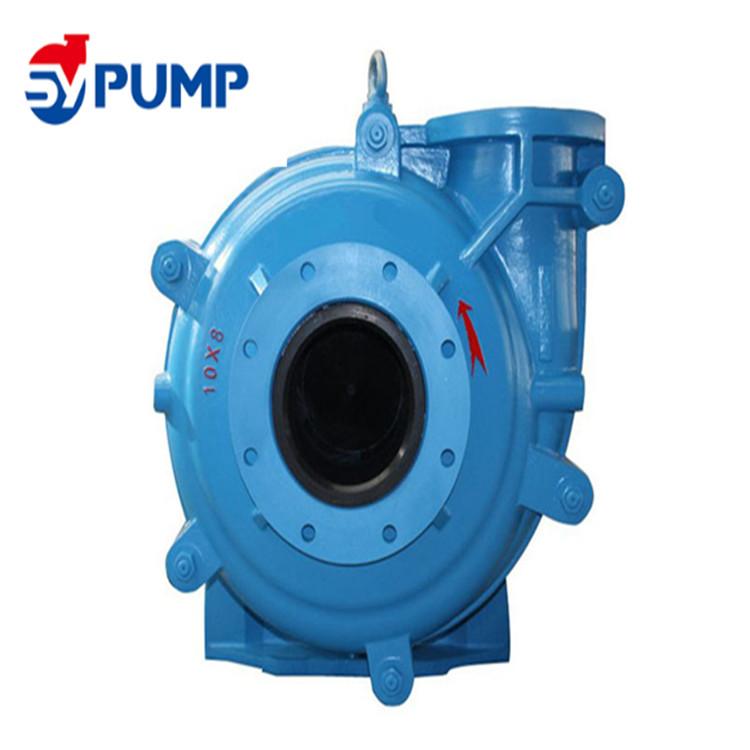 4x3 inch high abrasive rubber liner manure slurry pump