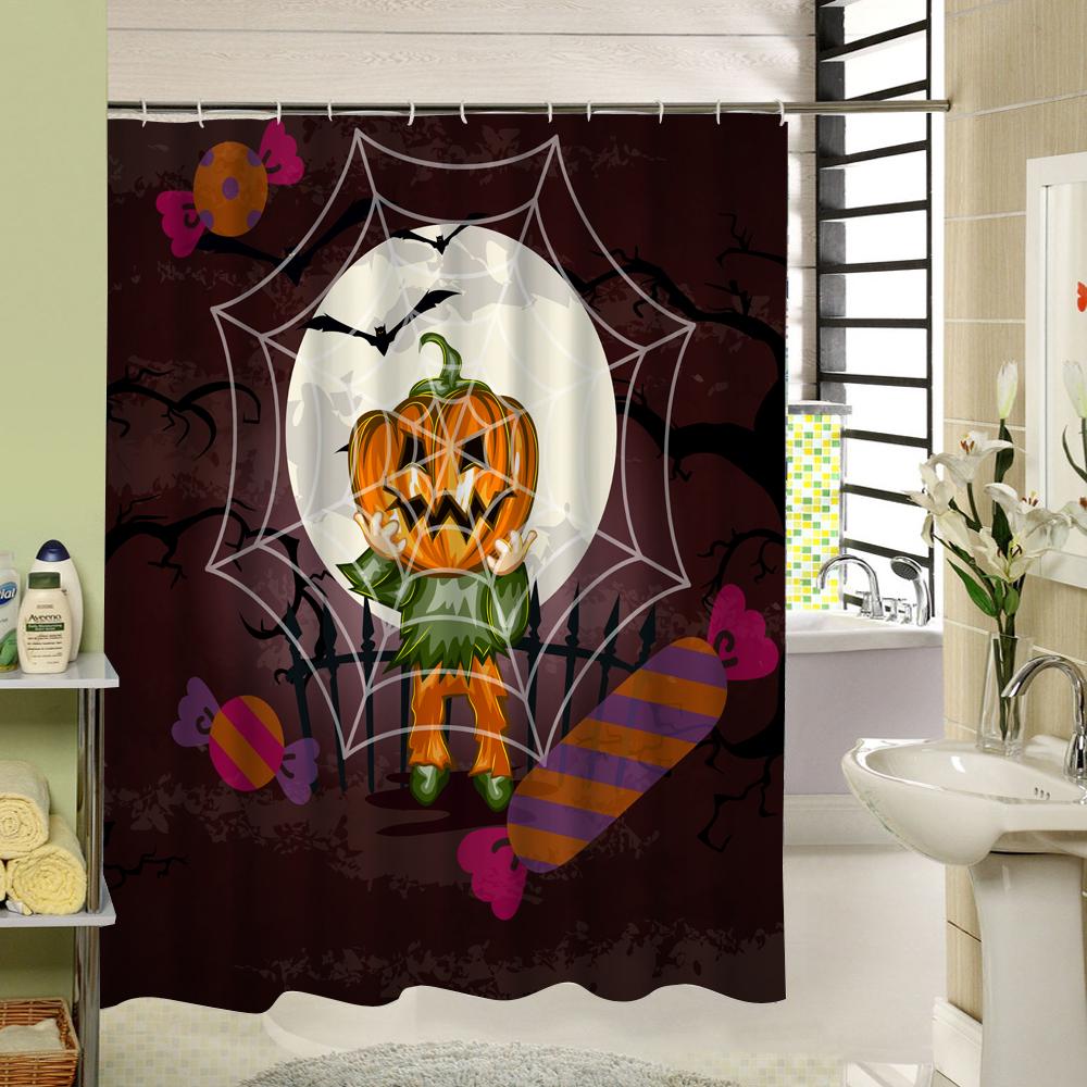Popular Halloween Shower Curtain-Buy Cheap Halloween