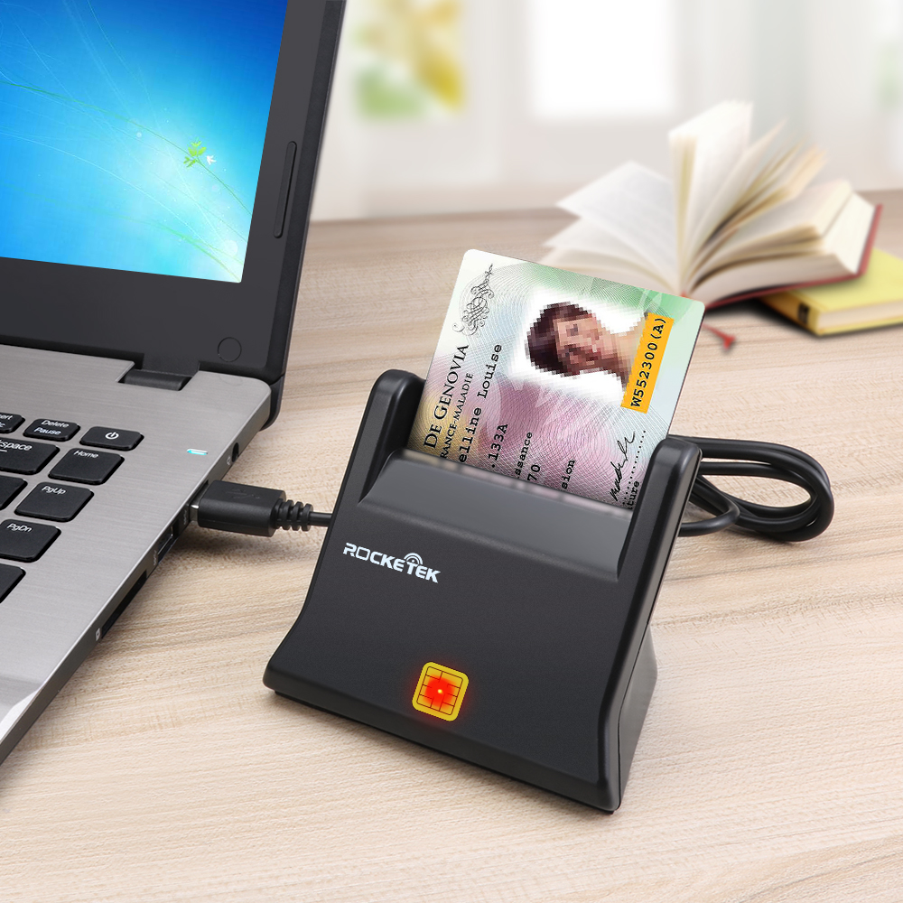 ISO 7816 USB 2.0 Smartcards Reader Writer with cable - USBSKY   USBSKY.NET