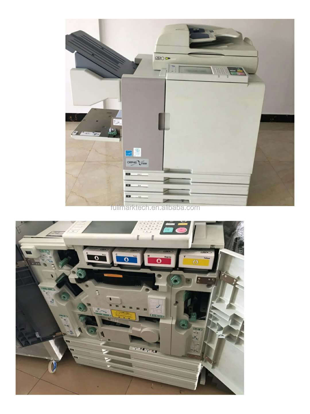 used risos comcolor 7150/7250 color inkjet printer for risos printing