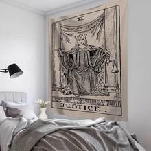 Мандаловый гобелен, настенный подвесной ковер в стиле колдовства, хиппи, пляжный ковер, гобелены с изображением солнца, луны, богемный домаш...(Китай)