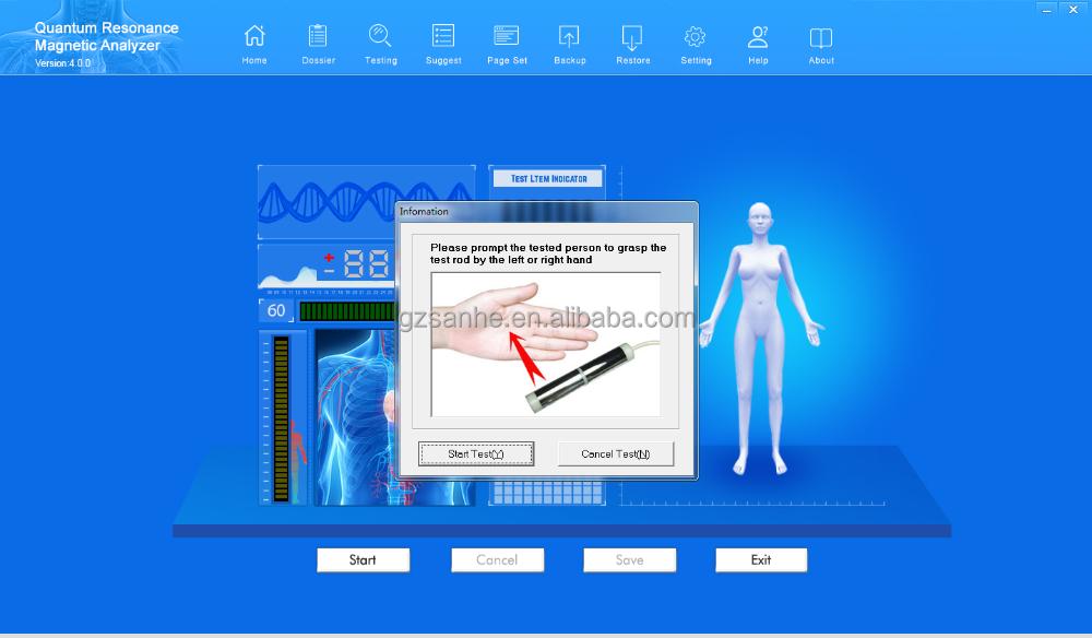 Health products sales tool latest 2021version 49 reprots quantum body composition analyzer quantum analyzer machines