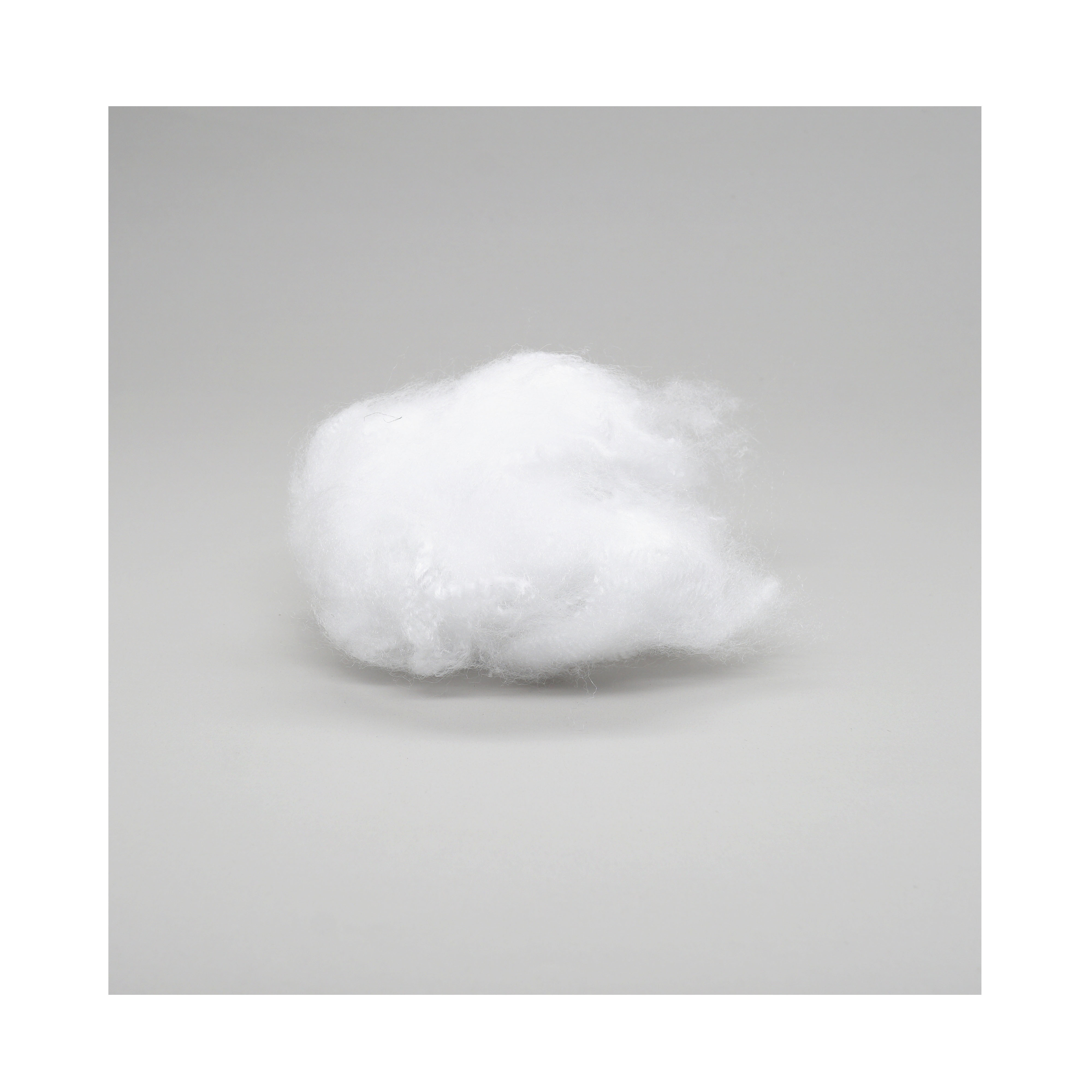 GRS certificate 1.2/1.4/1.5D polyester fiber price using for spinning