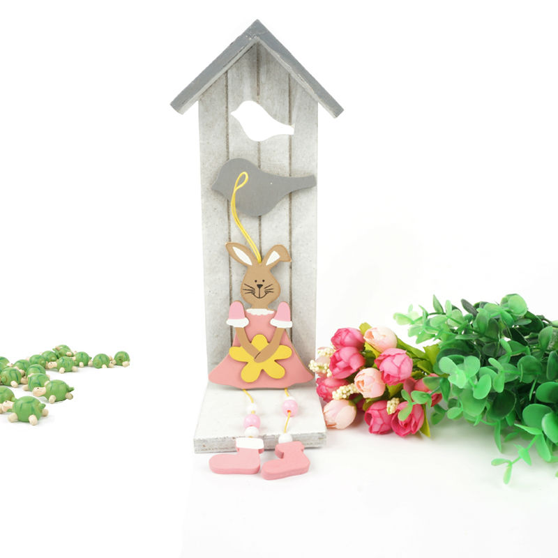 Aliexpress.com : Buy Easter Decoration 6pcs Wood Pink