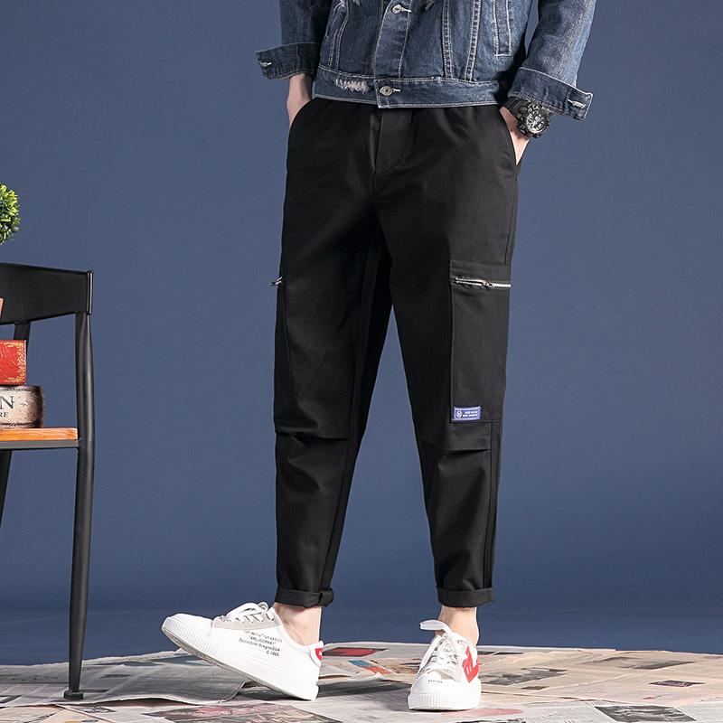 Multi Bolsillos De Gran Diseno De Bolsillo Largo Tubo Recto De Algodon Pantalones Para Los Hombres Buy Pantalones Largos De Algodon Pantalones Rectos Product On Alibaba Com