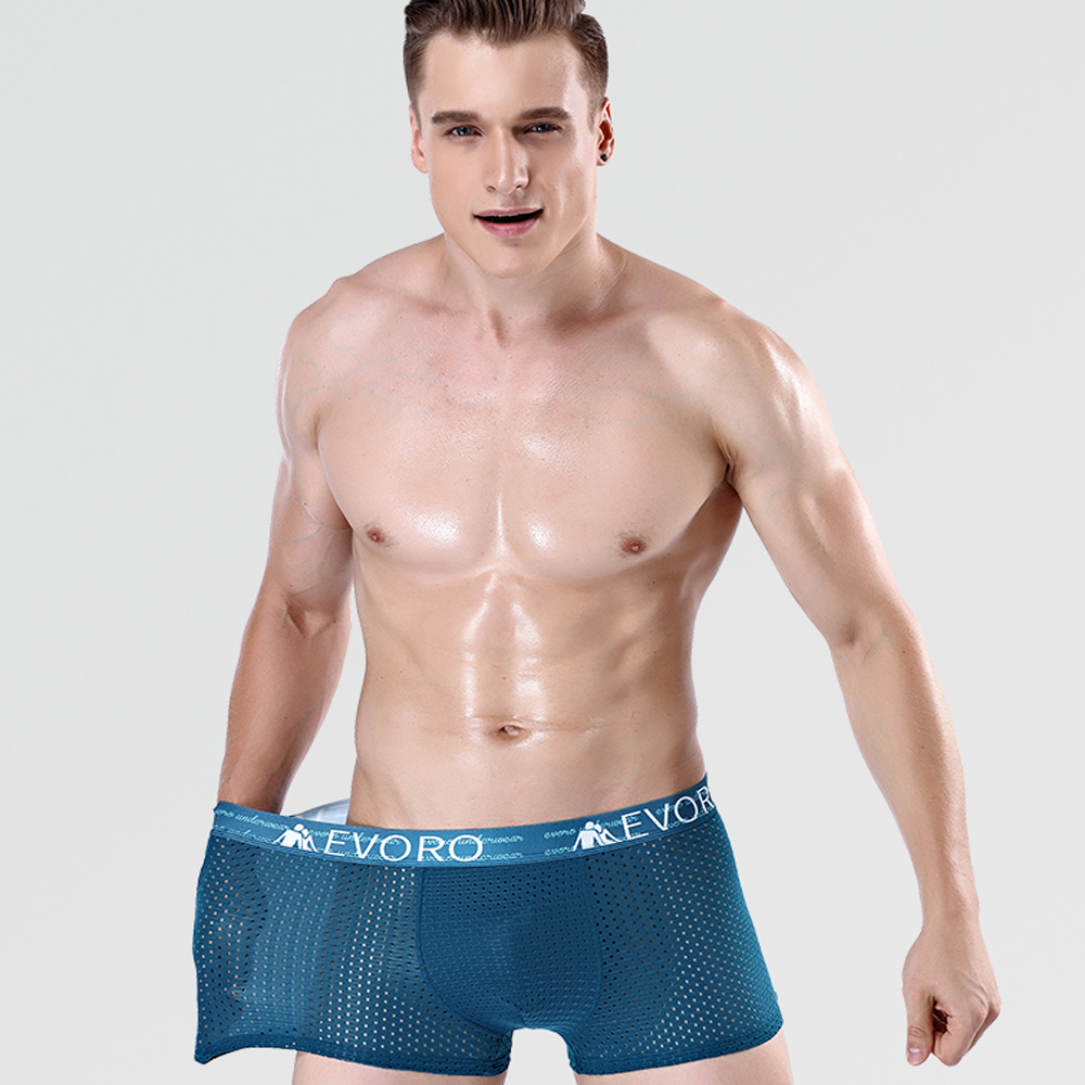 Mens Novelty Boxer Briefs Breathable Underwear Stretchy Underpants Shorts S-XL