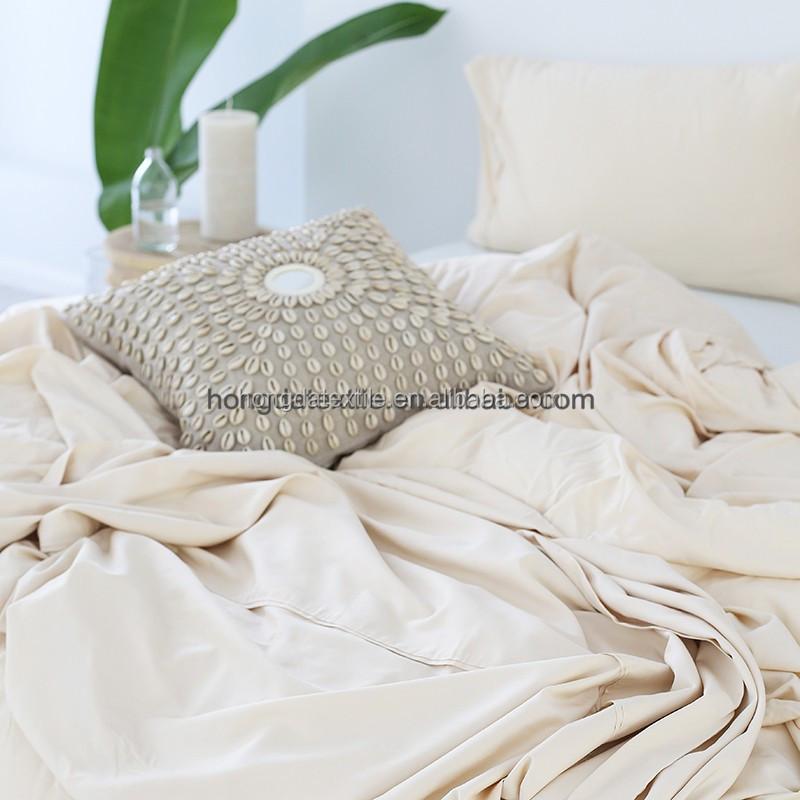 Оптовая продажа, Комплект постельного белья из органического бамбука и простыни большого размера из бамбука