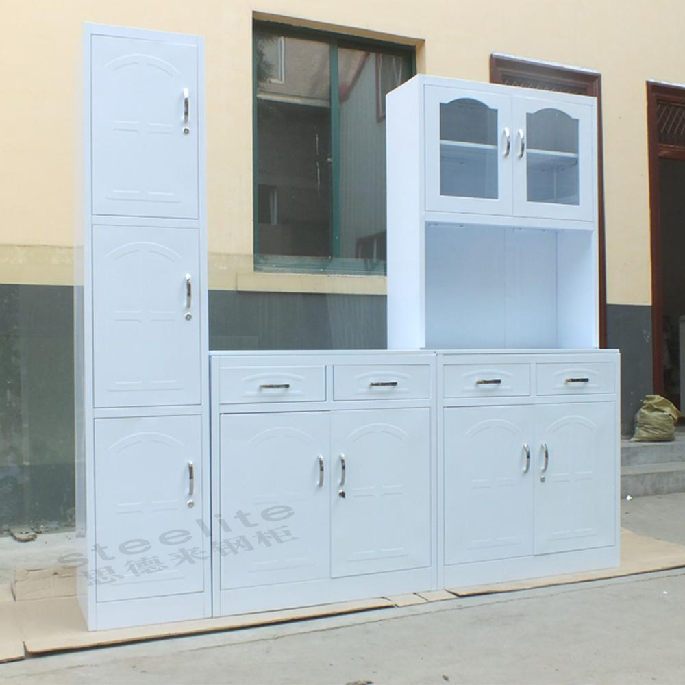 Knockdown Kitchen Cabinets: Modern High Gloss Orange Kitchen Cabinet / Knock Down Home