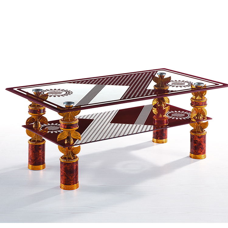 European Design Luxury Living Room Centre Modern Square Gold Coffee Tea Table With All Glass Top For Sale Buy Lcd Tv Stand Furniture Tv Stand Furniture In Living Room Marble Picture Top Design