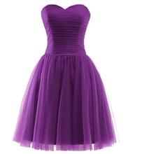ANGELSBRIDEP короткое серое платье для выпускного вечера 2020 мини-фатиновое милое платье для выпускного вечера на шнуровке выпускное платье(Китай)