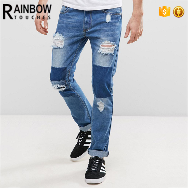Pantalones Vaqueros Rasgados Para Hombre Diseno Novedoso Con Nombre Ajustados Buy Pantalones Vaqueros Elasticos Pantalones Vaqueros Rasgados Para Hombre Pantalones Vaqueros Para Hombre Product On Alibaba Com