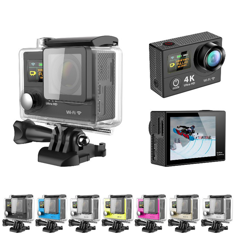 Оригинал Экен H3 Действий камеры Ultra HD 4 К Видео Спорт Камеры 170 градусов Широкий Угол 2
