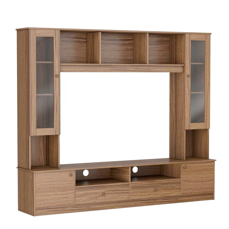Buy Tv Stands Media Unit Online At Best Prices With Bookcase Space