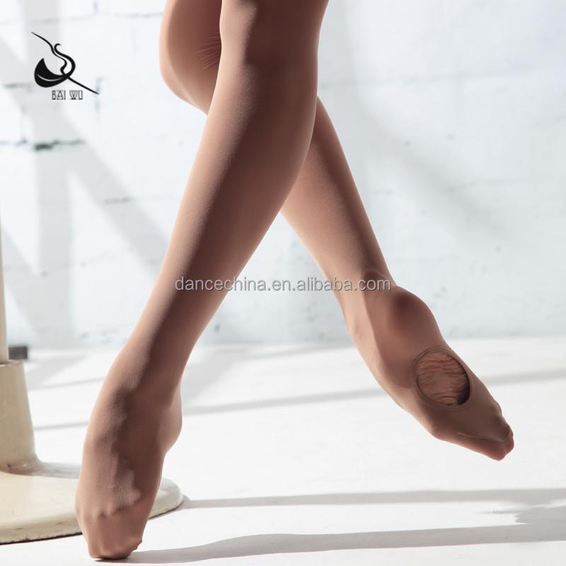116130009 Baiwu качественные балетные колготки для девушек колготки трансформируемые танцевальные колготки