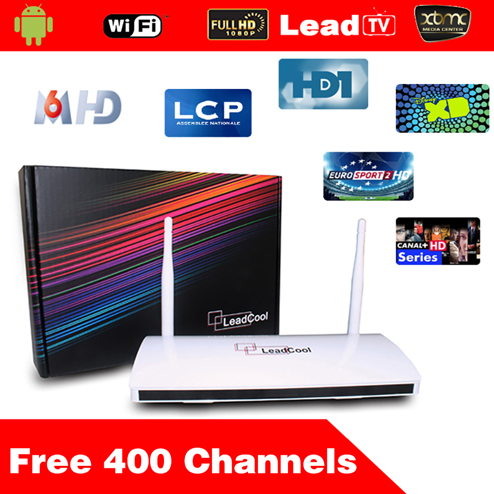 5pcs/Lot Leadcool Android Box Android Tv Box Quad Core + One Month Iptv  Subscription 400 Channels Iptv Channels List Porn - drone4sky