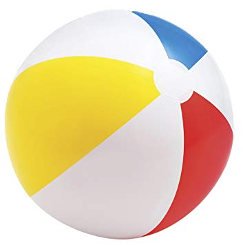 20' Cheap Promotional PVC Inflatable Beach Balls Baby Toys China Wholesale With Logo Printing In Bulk