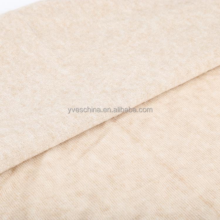 Popular soft ponto moda rayon polyester nylon cashmere hacci knitted fabric