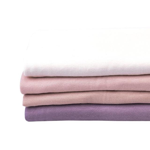 Wholesale organic baby bamboo fiber muslin fabric