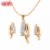 Competitive Price Austrian Popular Gold Plated Bijoux Jewelry Set
