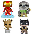 10cm Poupee Marvel Funko Pop Batman Guardians of the Galaxy figuines 2016 New pop funko Star