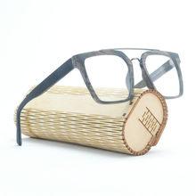 Винтажные большие деревянные оправы для очков, мужские очки для близорукости в стиле ретро, деревянные женские очки с прозрачными линзами ...(Китай)