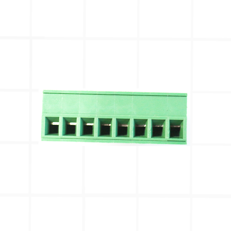 20 pairs of 3.5 mm printed circuit board pluggable connector 2/3/4/5/6/7/8/9/10P right angle 15EDGK-3.5-10P verdant