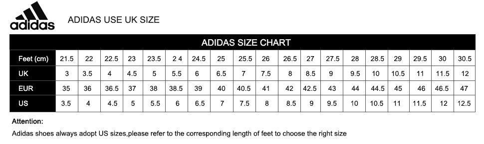 Adidas Ultra Boost Sizing Chart
