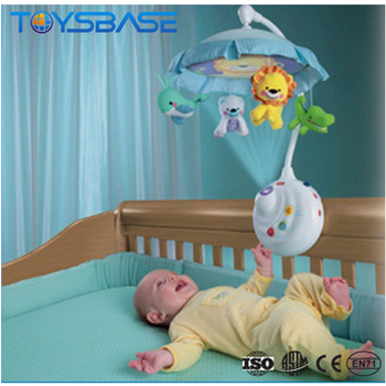 Baby Toys Smart 2-in-1 Projection Mobile Baby Musical Mobile