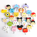 10 pcs lot Tsum Tsum mini figures stickers Minnie Donald Duck Winnie cute strong stick hooks