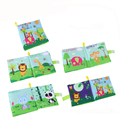 2017 Baby Toys Soft Cloth Books Infant Educational Early Education Toy Newborn FEB28 30