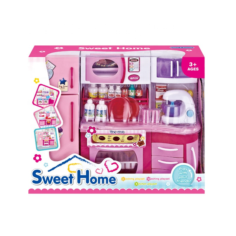 Wholesale New Arrival Electric Pink Play Furniture Toy Set Wholesale New Arrival Electric Pink Play Furniture Toy Set