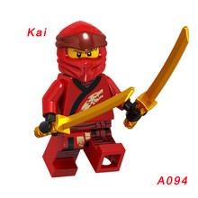 1 шт. A089 Chap'Rai Wu Samukai строительные блоки игрушки для детей мини-игрушки фигурка мастер Золотого Дракона Ллойд Джей Зейн(Китай)