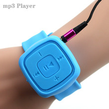 Fashion High Quality Mini Watches style Mp3 Player With TF Card Slot Electronic Products sports mini MP3 Music ( only a Mp3 )
