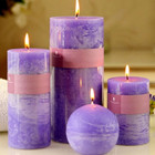 Top Quality Colored Pillar Perfume Candle for Wedding