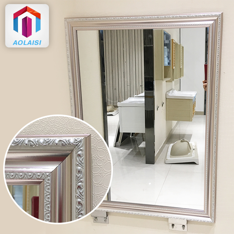 Bathroom Framed Mirrors Designs Aluminum Silver Metal Frame Wall Mirror Buy Silver Metal Frame Wall Mirror Metal Frame Wall Mirror Bathroom Framed Mirrors Product On Alibaba Com