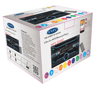 Sony 2 Din Car FM Radio / Stereo / Audio Player