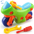 XFC New Children Baby Diy Motorcycle Model Toy Puzzle Educational Toy Kids Gift