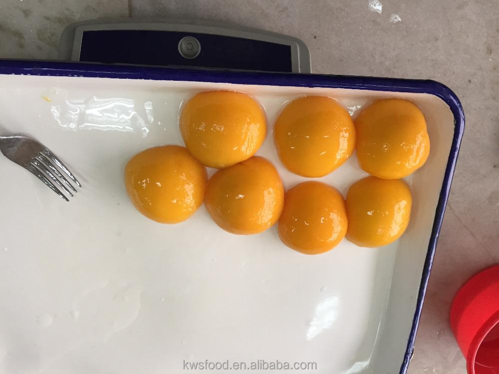 Консервированные желтые персиковые консервированные фрукты