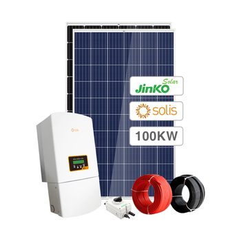 Sunpal Solar Panel System 100Kw Ongrid 80KW 120KW 150KW 200KW 300KW 400KW Solar Power Plant Commercial