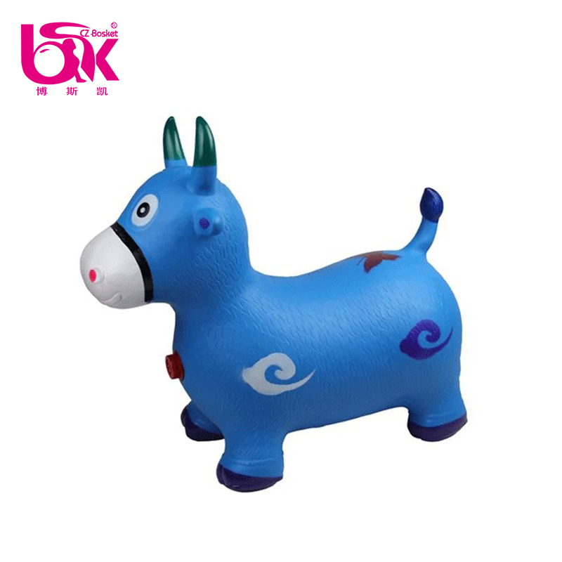 Hot Sale PVC Stability Fitness Animal Jumping Horse