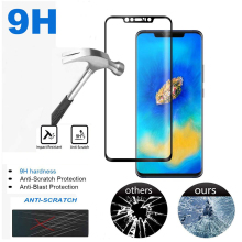 3D 보호 강화 (gorilla Glass) Screen Protector 대 한 Huawei P20 Pro 풀 Cover 강화 막