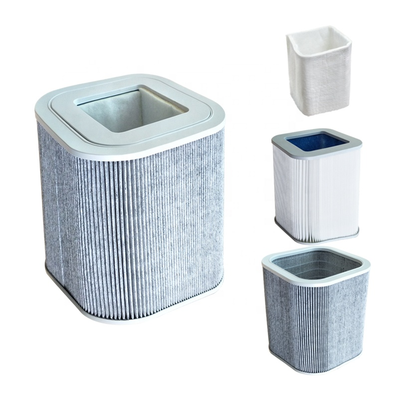 Air Filter Filtration Smoke Fan Hepa Portable Carbon Purifier Solder Exhaust Fume Extractor & Dust Absorber System