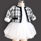 Clothing Girls' Baby Girl Clothes Wholesale Spring And Autumn 0-3 Year Old Princess Style Children's Clothing Infant Toddlers Clothing Baby Girls' Clothing Sets