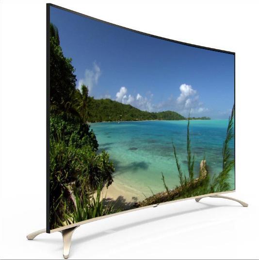 Недорогой телевизор 4K 55 дюймов 65 дюймов 75 дюймов изогнутый 3D UHD SMART LED TV с Wi-Fi