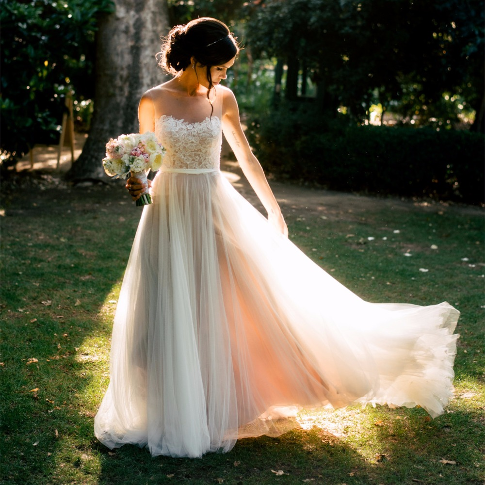 Wedding Dresses For A Beach Wedding: Beach Wedding Dresses 2017 Boho Wedding Dresses Chiffon